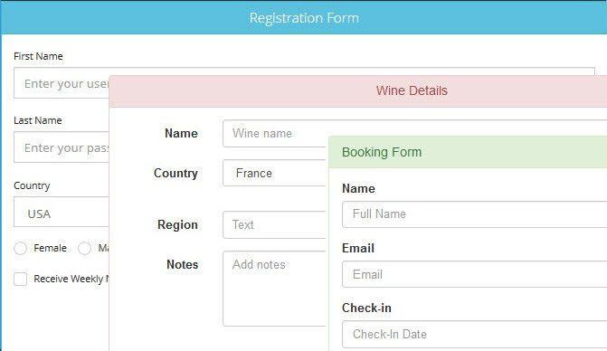 DMXzone Bootstrap 3 Forms Designer - Extensions - DMXzone.COM