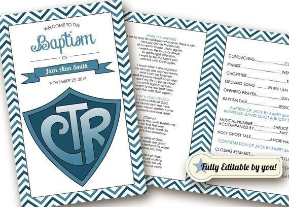 Best 25+ Baptism program ideas on Pinterest | Lds baptism program ...