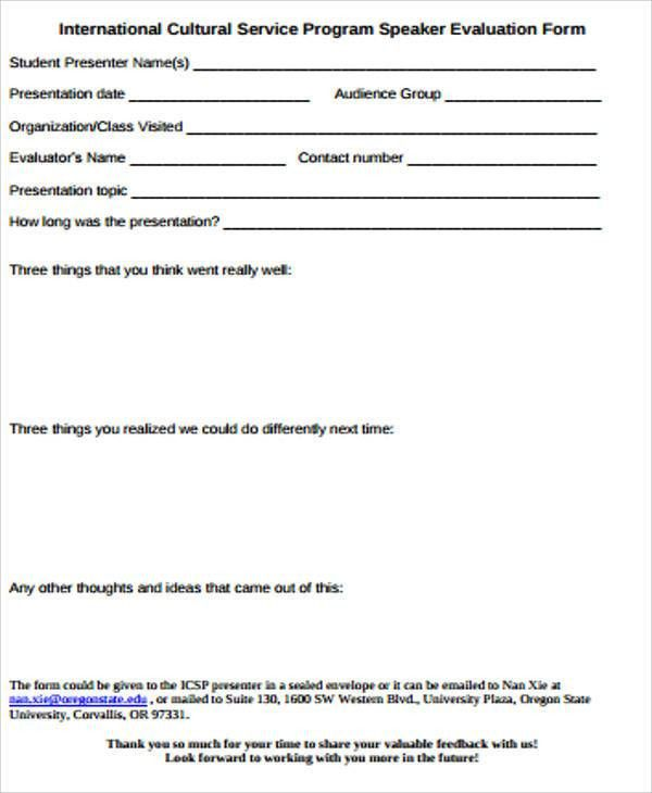 Delightful Audience Feedback Form | Jobs.billybullock.us