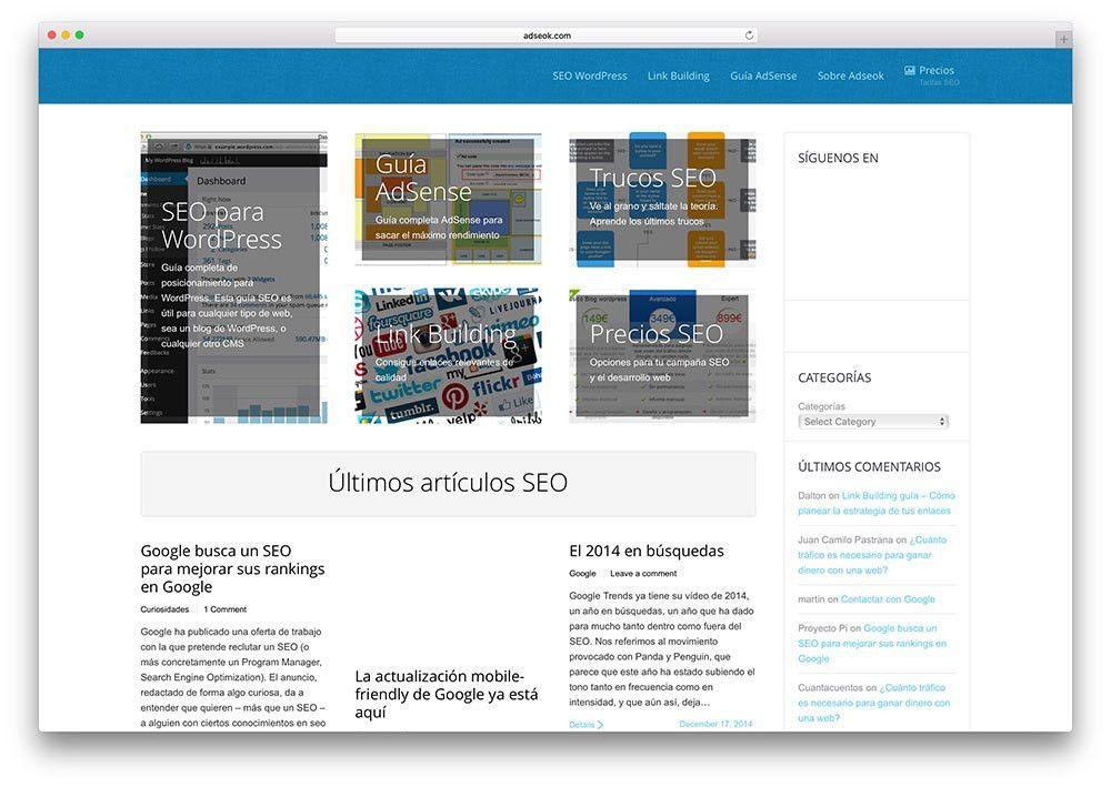 30 Super Website Examples Using The7 WordPress Theme