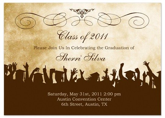Graduation Invitations Templates Free - dhavalthakur.Com