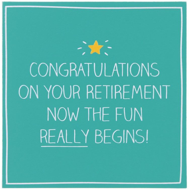 Happy Jackson Congratulations On Your Retirement Card   Temptation ...