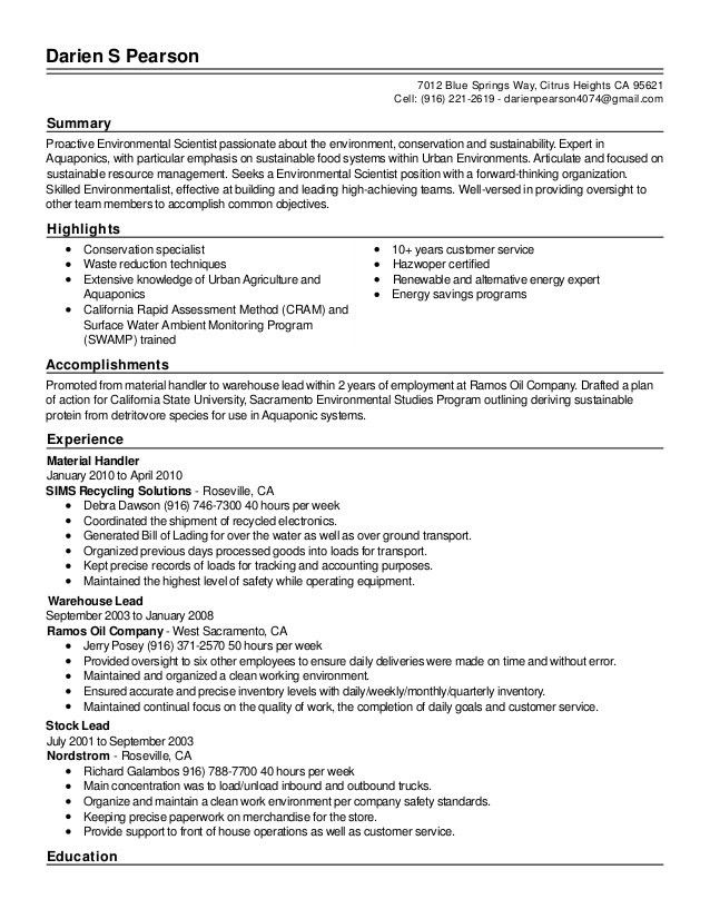 Resume - Live Career