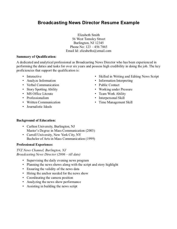 journalist resume journalist resume samples visualcv resume