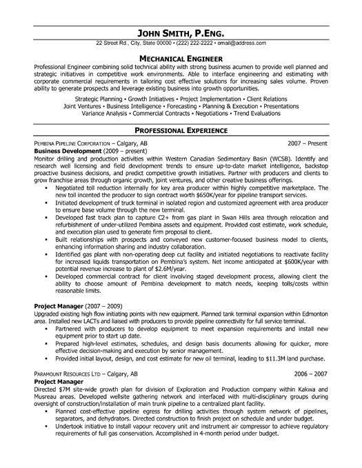 It Project Engineer Sample Resume - uxhandy.com