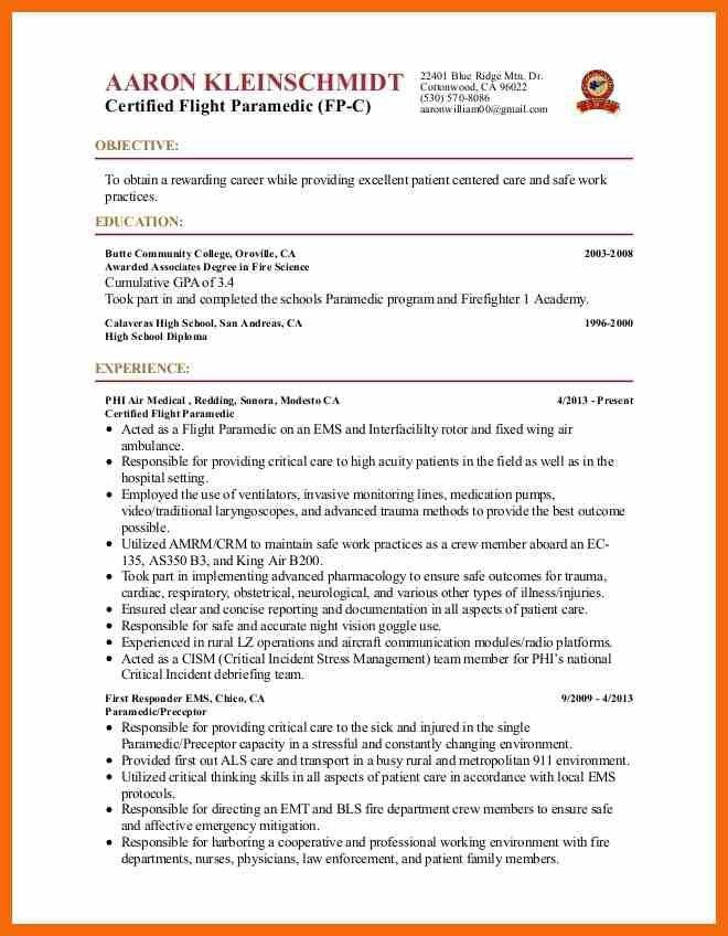 Emt resume [resume.characterworld.co]