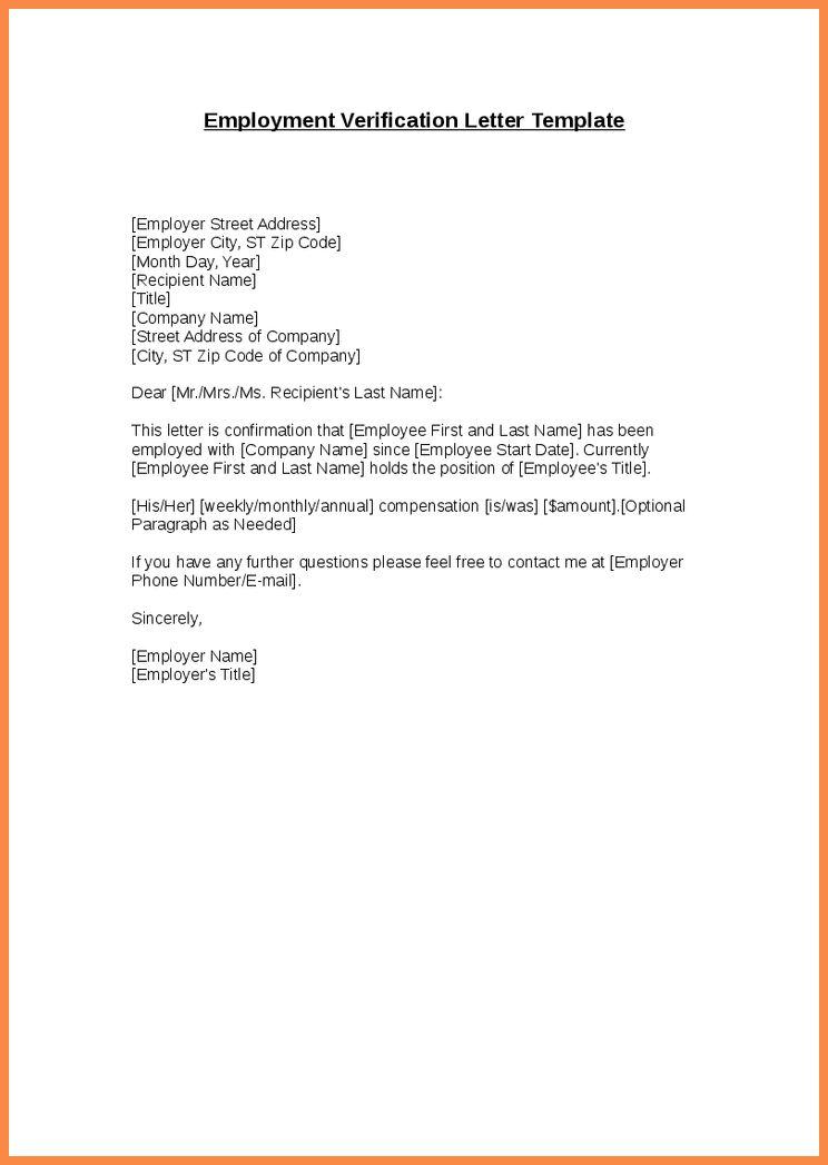 job verification letter | resume name