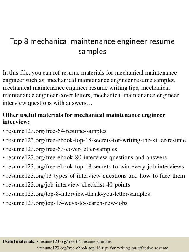 Engineer Resume Examples. Resume Cover Letter Example Engineering ...