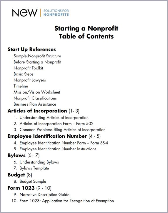 Nonprofit Bylaws Template | Template Design