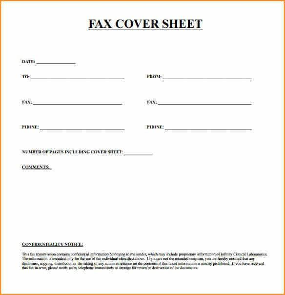 14+ fax cover sheet template - Basic Job Appication Letter