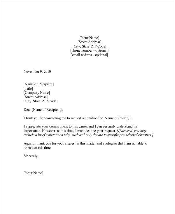 Sample Sponsorship Letter - 9+ Examples in Word, PDF