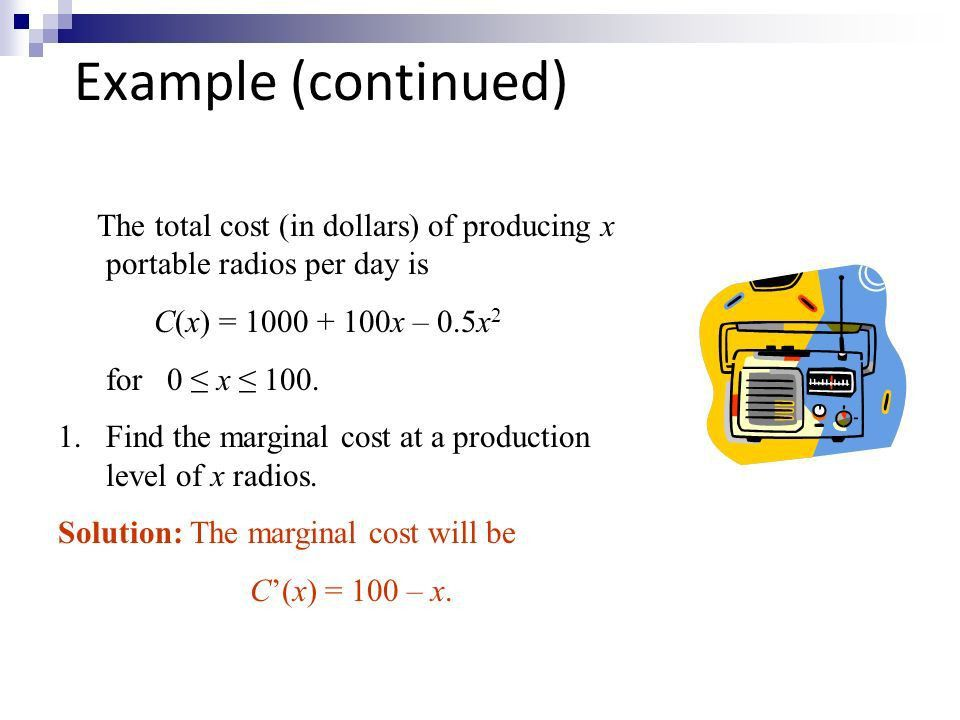 Basic Calculus for Economists - ppt download