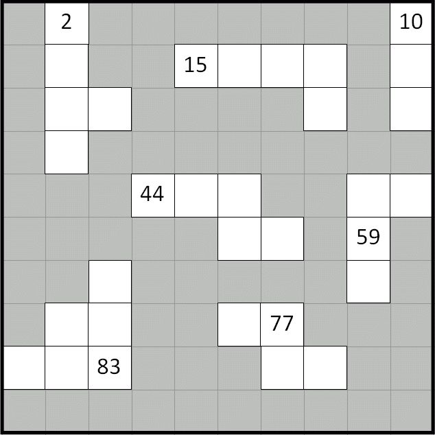 Number Grid Puzzles (10 Variations)