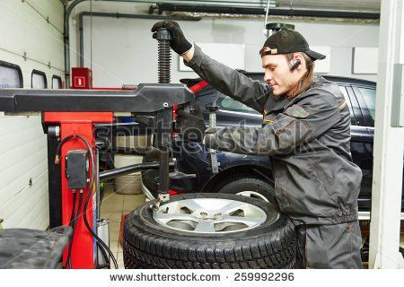 Repairman Auto Mechanic Portrait Car Auto Stock Photo 238359922 ...