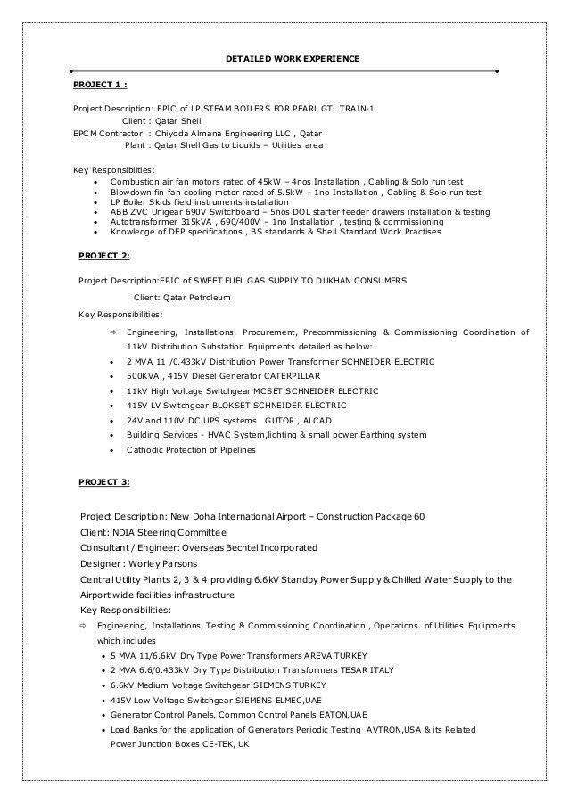MBN CV-SENIOR ELECTRICAL ENGINEER
