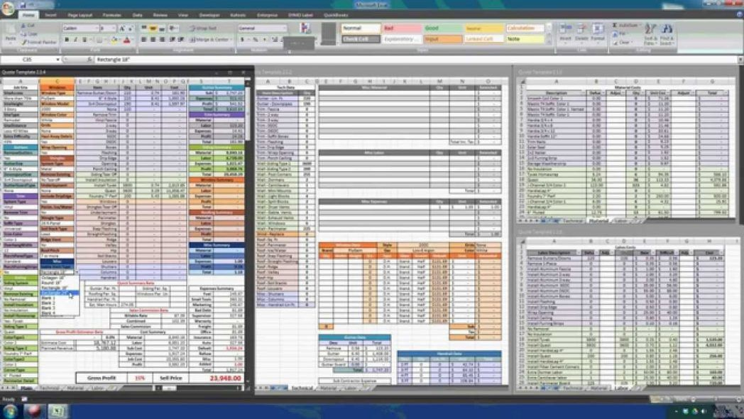 Templates For Numbers Pro Mac Made Use Free Construction Estimate ...
