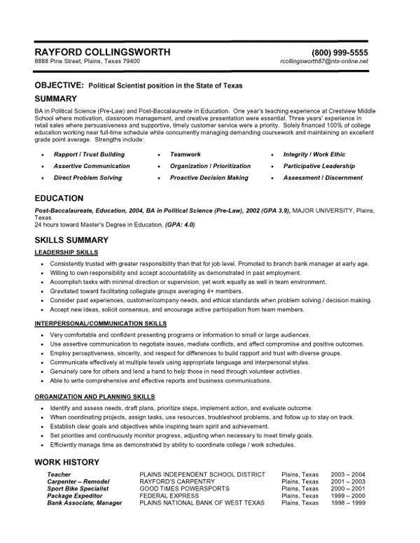 Smart Ideas Combination Resume Template 2 Combination Resume ...