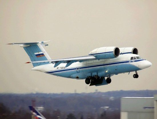 Aerospaceweb.org | Aircraft Museum - An-72 / An-74 'Coaler' Pictures