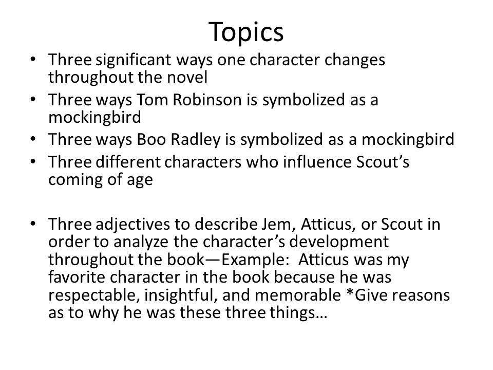 To Kill a Mockingbird Literary Analysis Essay - ppt video online ...