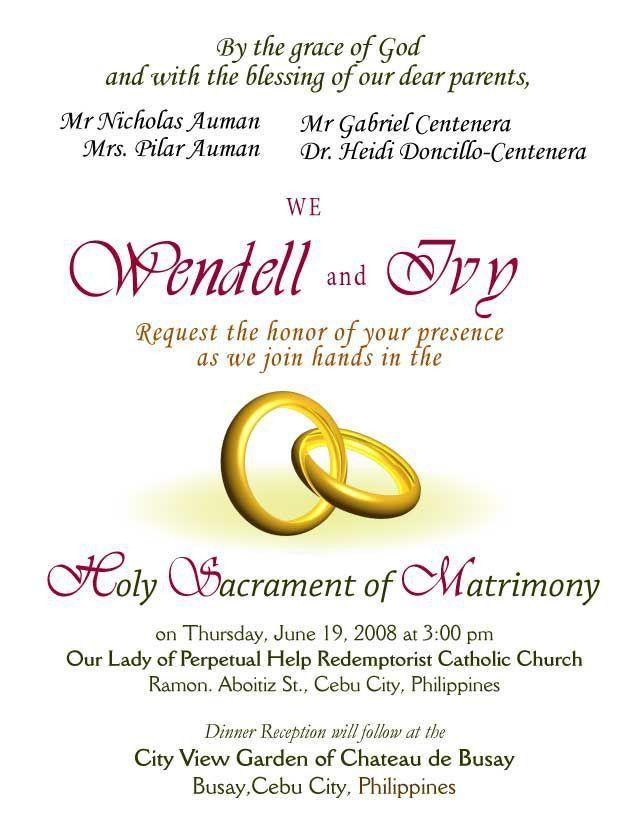 Thanks Letter For Wedding Invitation   PaperInvite