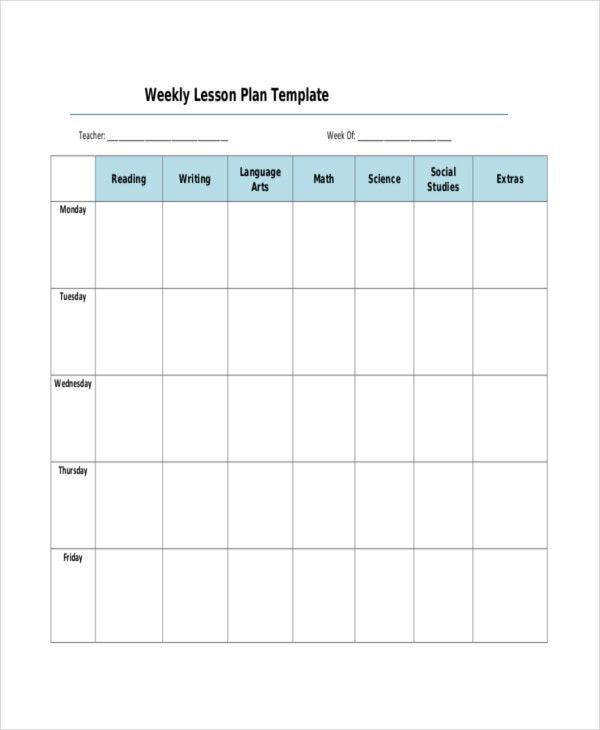 Lesson Plan Template - 17+ Free Word, PDF Documents Download ...