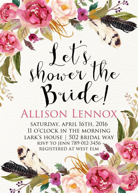 Best 25+ Shower invitations ideas on Pinterest | Bridal shower ...