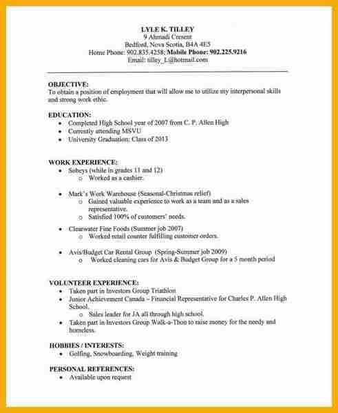8 plain text resume bursary cover letter - Resumes For Dummies