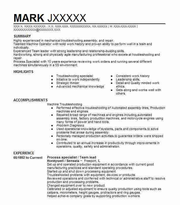 Best Team Lead Resume Example | LiveCareer