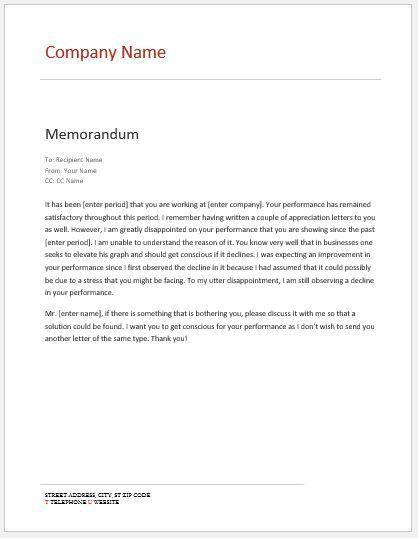 memo template ms word