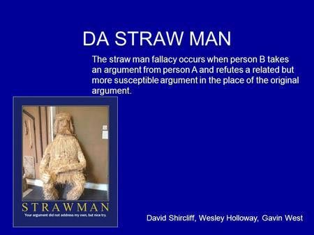 Straw Man Fallacy in The Crucible - ppt download