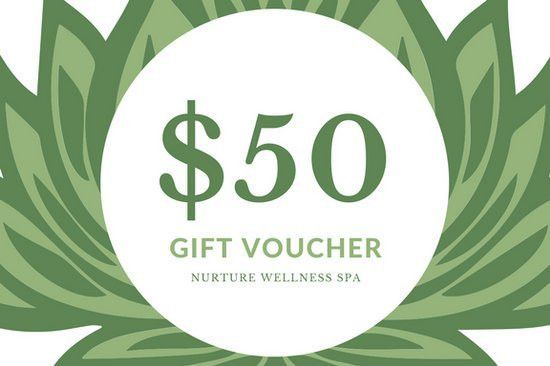 Green and White Mandala Flower Massage Gift Certificate ...