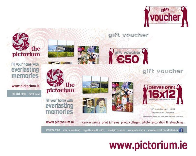 Personalised Gift Vouchers Templates - Corpedo.com