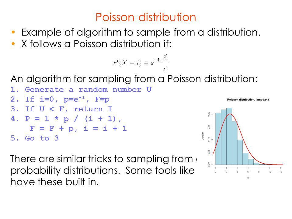 Discrete Event Simulation How to generate RV according to a ...