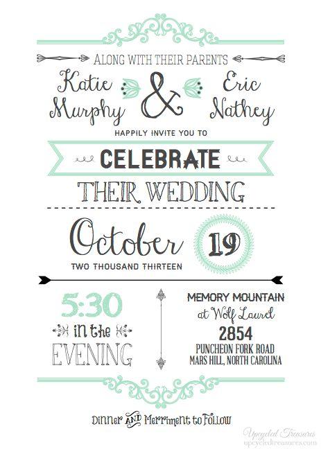 printable wedding invitations template - thebridgesummit.co