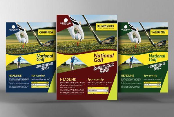8+ Golf Event Flyers - Design, Templates | Free & Premium Templates