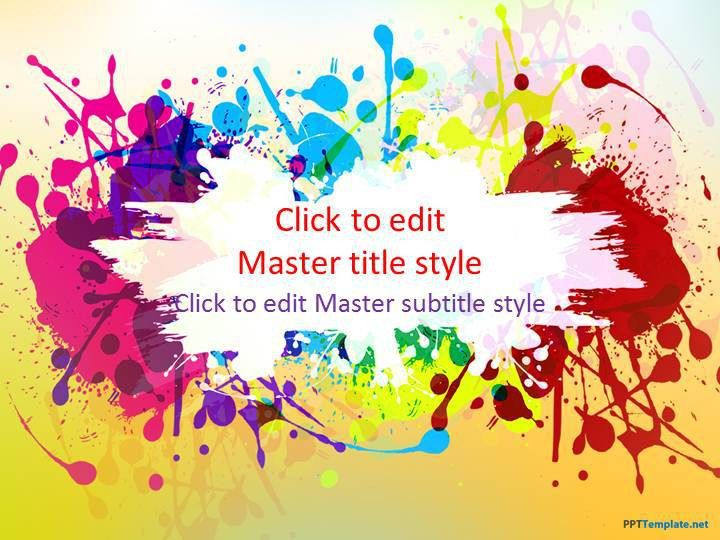 Powerpoint Templates Free Download Colorful - Pet-Land.info