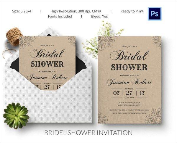 Brides Invitation Templates - Kmcchain.info
