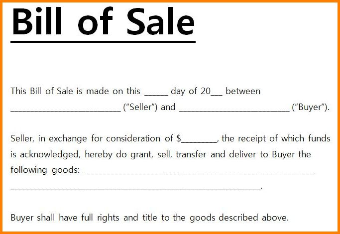 Bill Of Sale Template Word.72 Artwork Bill Of Sale 791×1024.jpg ...