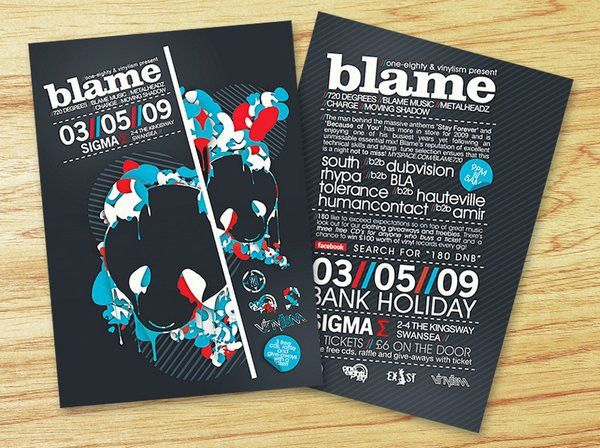 Picnic Flyer Ideas | 25 Stunning Examples of Nightclub Party ...