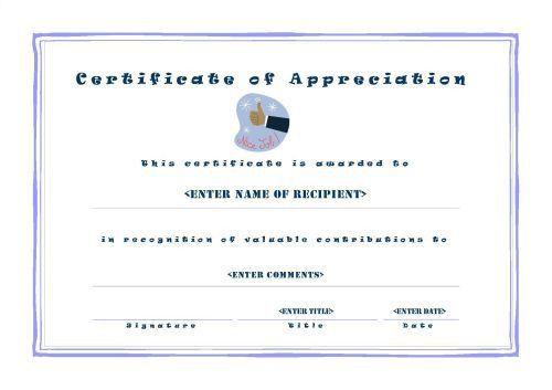 Certificates of Appreciation 001
