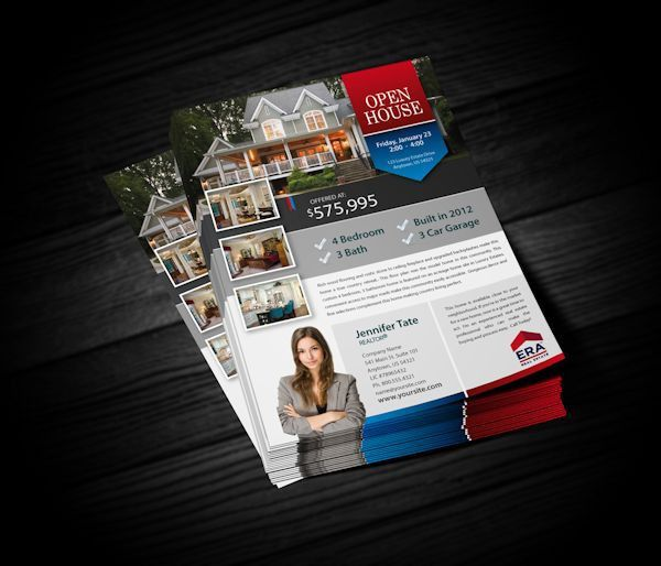 ERA Real Estate Flyers | Realty Cards Printing
