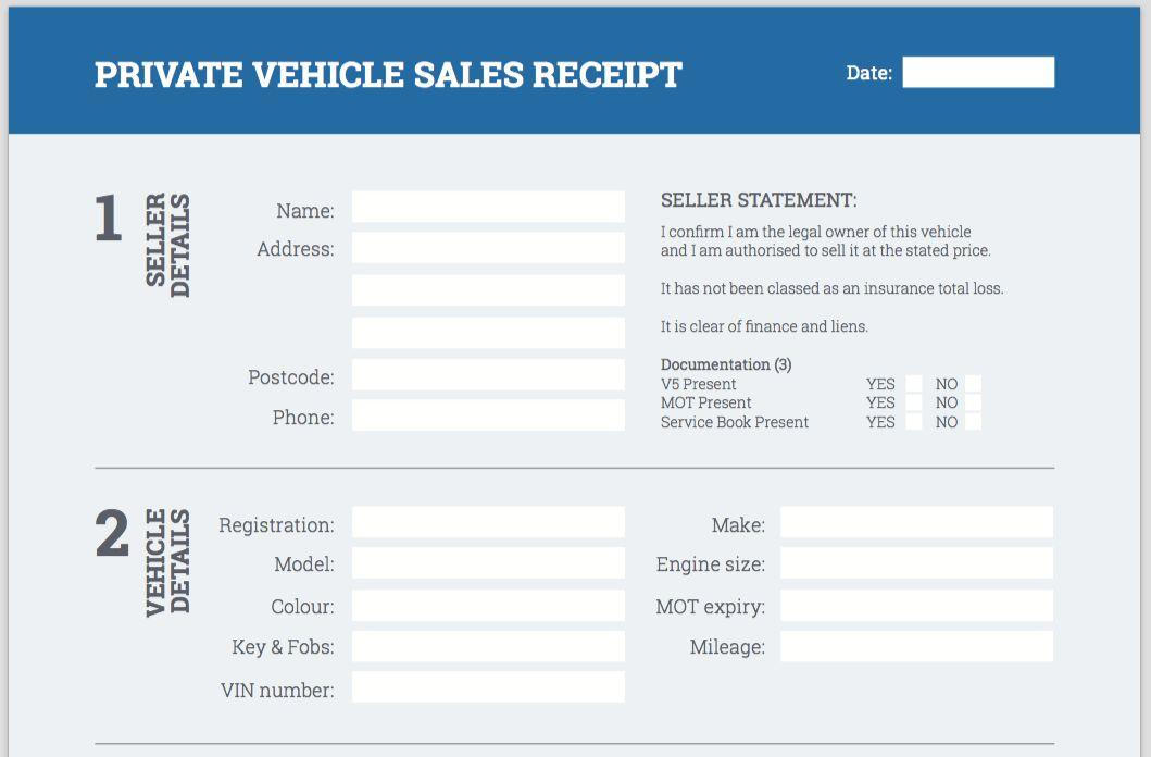 Download Car Selling Receipt | rabitah.net