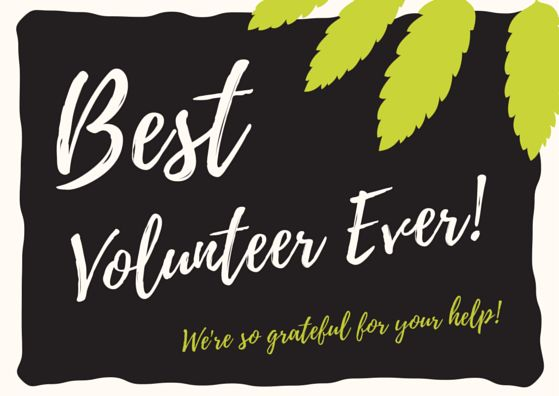 Thank You for Volunteering, Volunteer Thank You Quotes