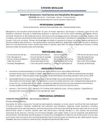 Sales Consultant Resume Sample - Elite Resume Writing
