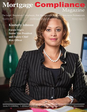 Mortgage Compliance Magazine - December 2014 - Front Cover