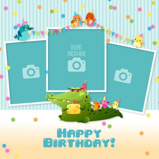 Template For Birthday Card – gangcraft.net