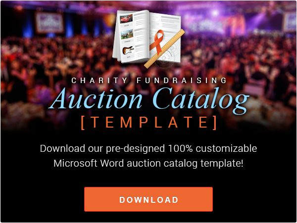 Build Your Own Charity Auction Catalog [TEMPLATE]