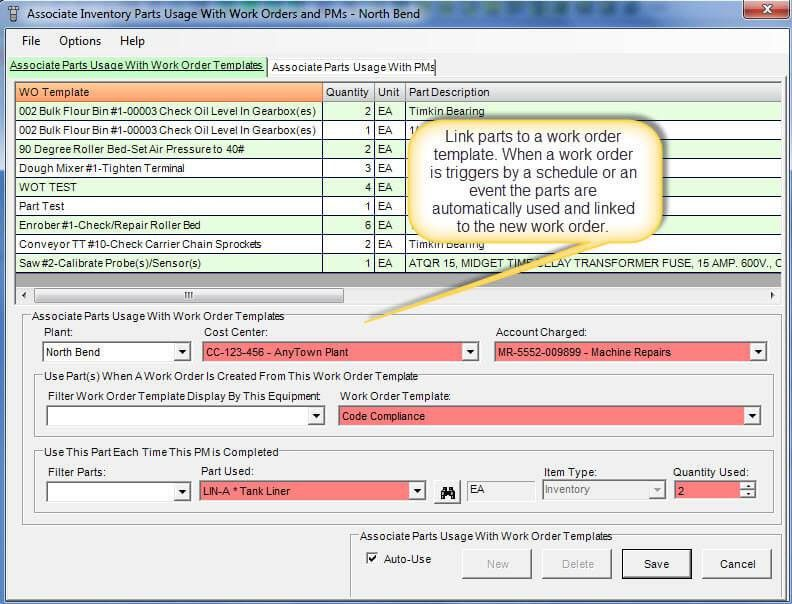 Work Order Template Software | Plant Maintenance Software