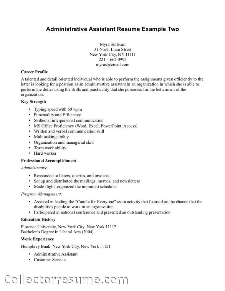 28+ [ Career Objective For Healthcare Administration Resume ...