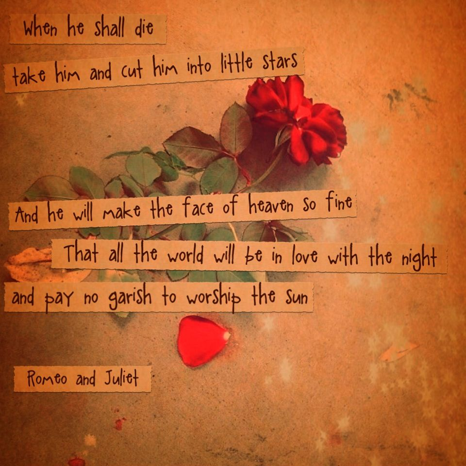 What is the purpose of the contrasting themes in romeo and juliet?